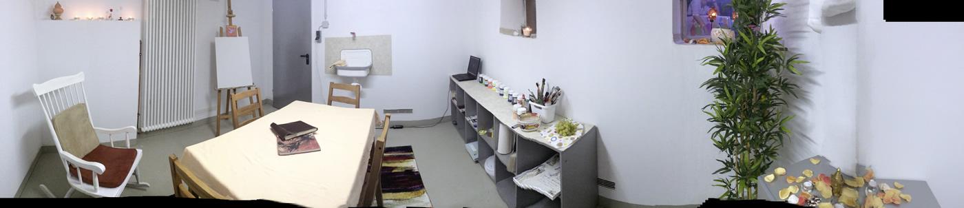 Kunsttherapie Im Malatelier